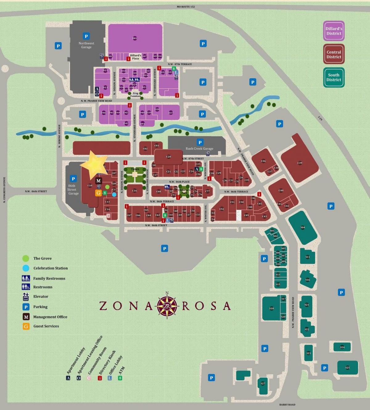 Zona rosa Karte - Zona rosa Mexiko-Stadt Karte (Mexiko) Zona Rosa Map on