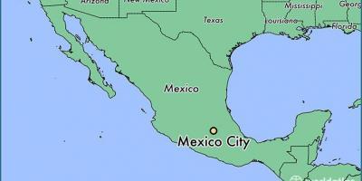 Karte Anzeigen.Mexiko Stadt Map Karten Mexiko Stadt Mexiko